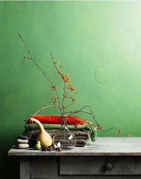 Sencillo, con estilo y fresco. Así es el tono verde.