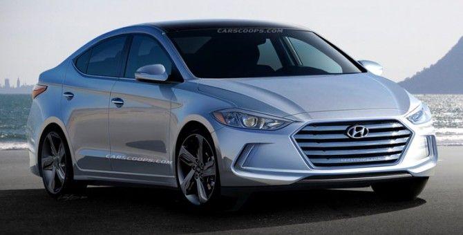 Hyundai elantra / avante 2016