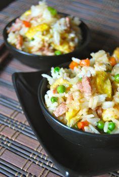 Cantonese Rice - Riz Cantonais