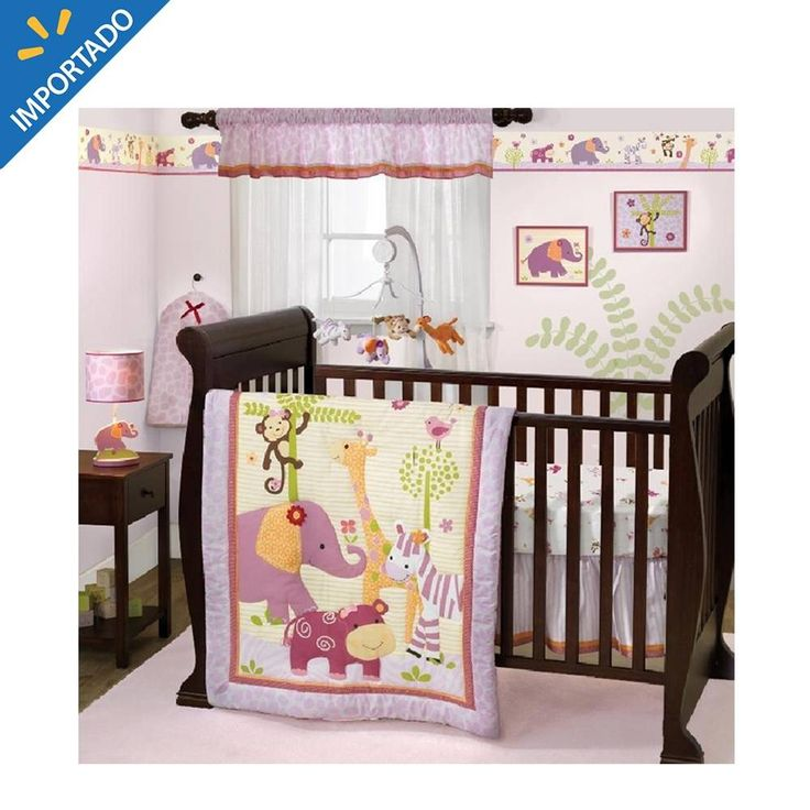 Kit de Cuna Lambs & Ivy Bedtime Originals Lil Friends 3 Piezas - $ 490.00 en Walmart.com.mx