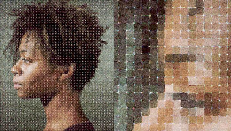 Chuck Close, Portrait (detail)