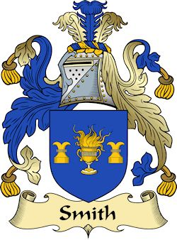 Smith Family Crest and History