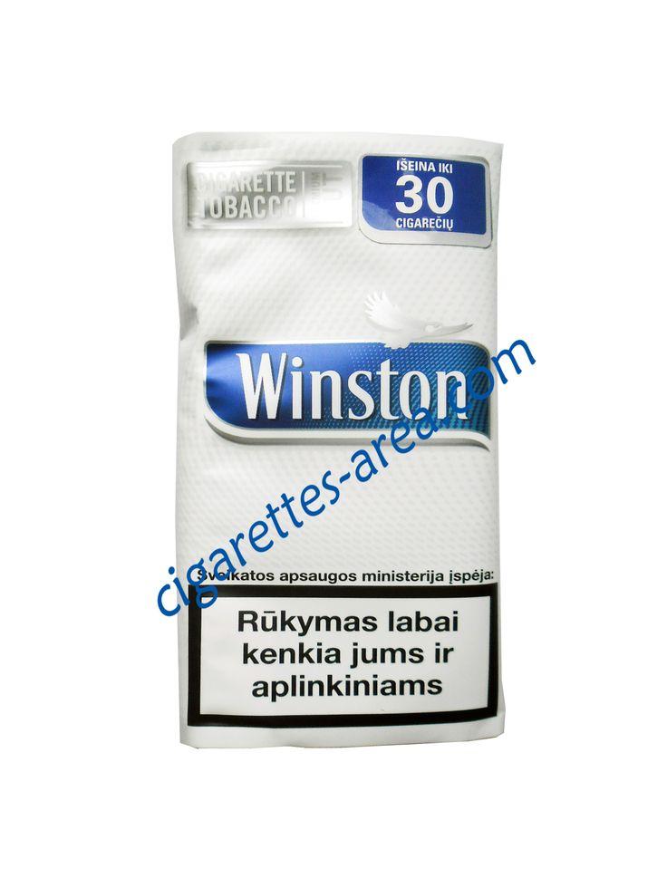 Winston Blue (Pouches) cigarettes