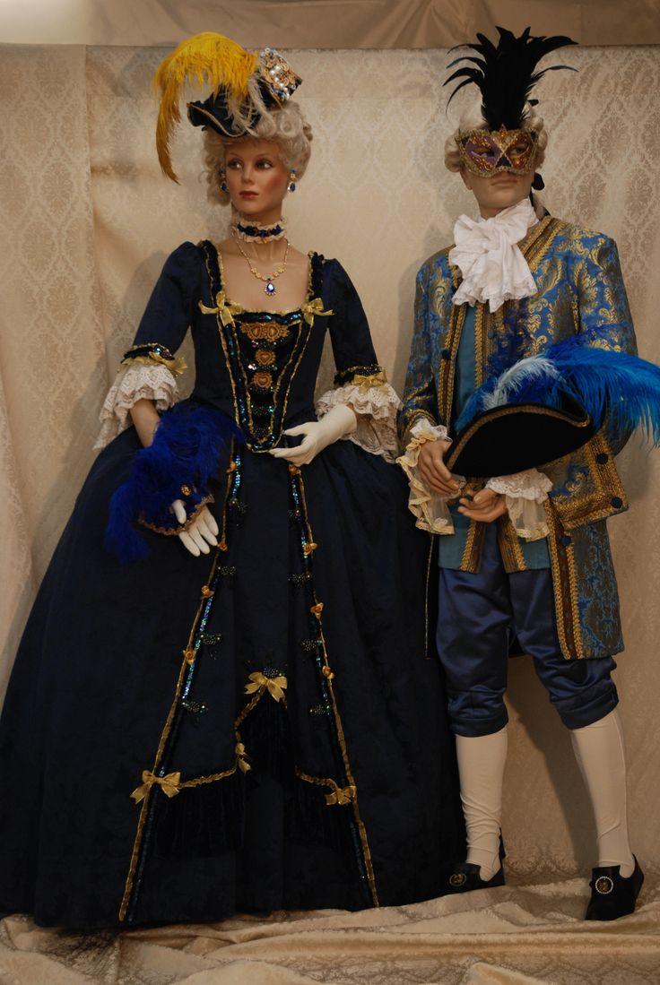 Dama e Cavaliere- Vestito Blu