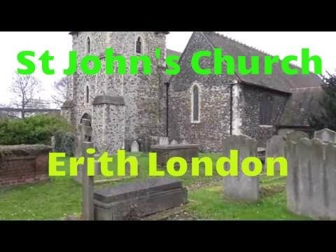 Erith:St John's Church-Erith- Bexley-old church-Sony FDR AXP33-ultra HD ...