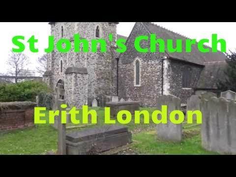 Erith:St John's Church-Erith- Bexley-old church-Sony FDR AXP33-ultra HD ...
