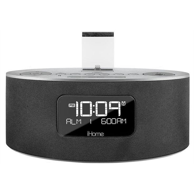 iHome iDL46 Clock Radio with Apple Dock Cradle ( OPEN BOX)
