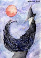 The crow | Bloodborne #AngelZArt #ElieenTheCrow #Bloodborne