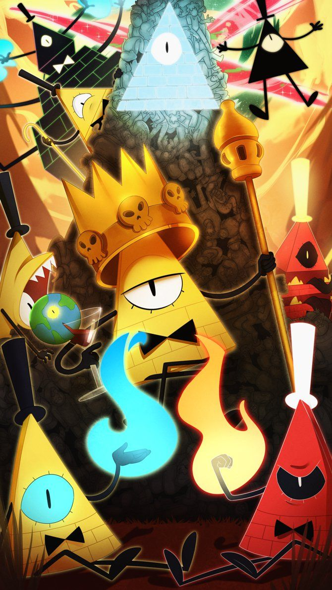 BILL CIPHER by The--Magpie.deviantart.com on @DeviantArt