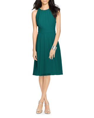Lauren Ralph Lauren Ruched Dress | Bloomingdale's