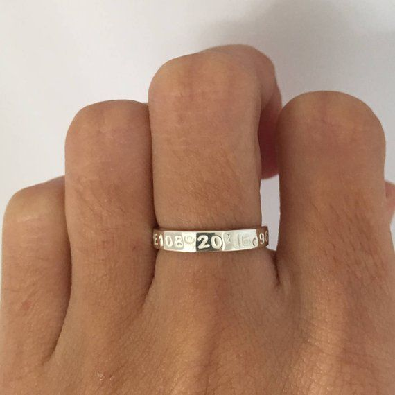 2f4dc55747 Long Distance Relationship, His and Her Promise Rings, Promise Rings ...