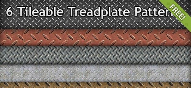 Tread plate Pattern Texture Stock PSD File