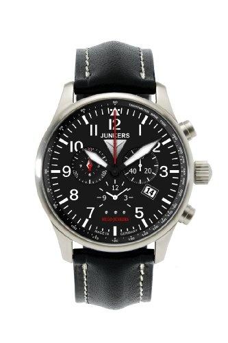 Junkers 150 Years Hugo Junkers Chronograph Alarm Watch 6684-2 / Junkers Herrenuhr 6684-2 Chronograph
