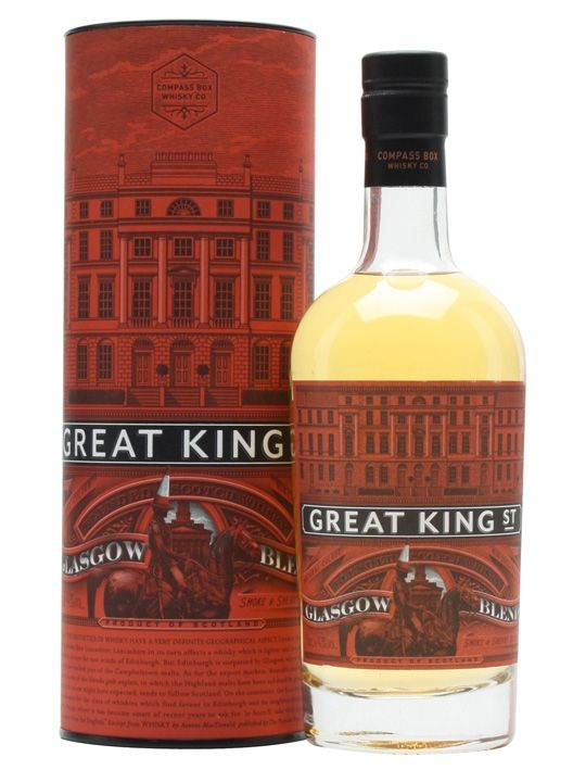 Compass Box Great King Street - Glasgow Blend : The Whisky Exchange