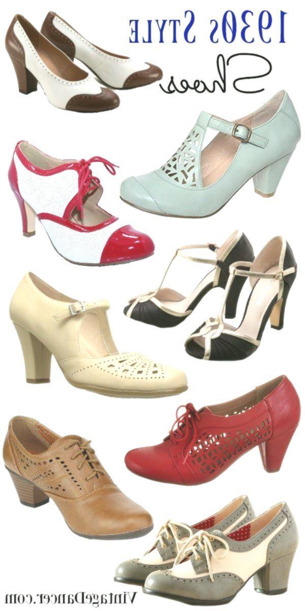 1930er Jahre Schuhe 1930er Jahre Stil Schuhe Dreissiger Jahre
