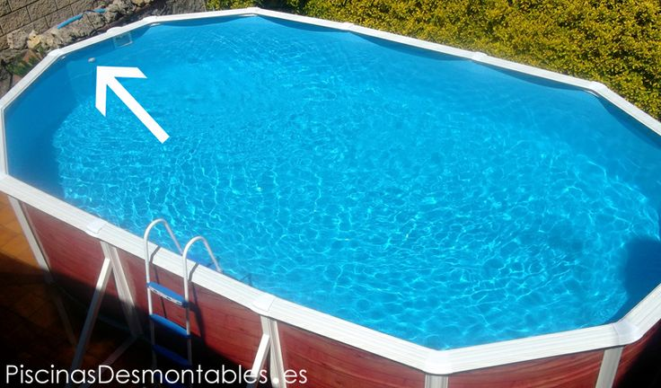 32 best montaje piscinas images on pinterest montages for Montar piscina desmontable