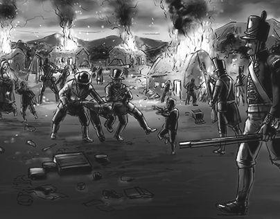 "Check out new work on my @Behance portfolio: ""Famine Illustration 3"" http://be.net/gallery/40214139/Famine-Illustration-3"