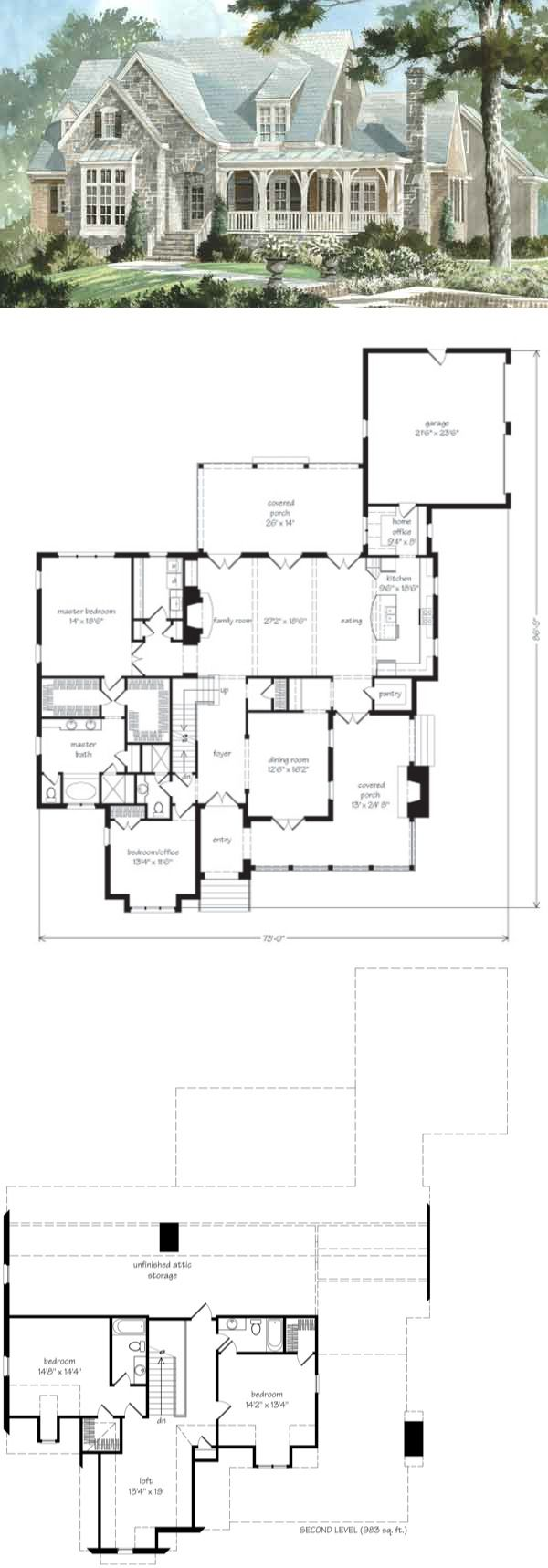 Top 12 Best-Selling House Plans | Southern living house plans ...