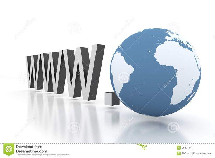 Direccionamiento de la Web de la Internet con la tierra...