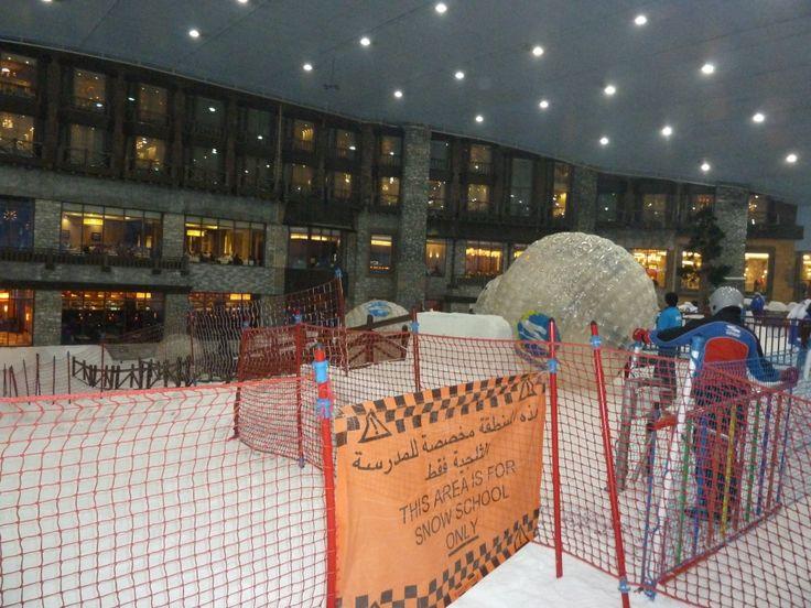 Xorb bal in Ski Dubai #3MTT #NHTV