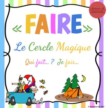 Students need A LOT of practice with verb conjugations in French in order to achieve mastery. This activity will afford your students the opportunity to get in some authentic, contextual practice with the verb « faire » while promoting communication in the classroom.