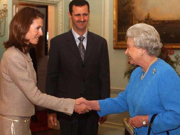 Asma Al-Assad, Syrian First Lady and wife of Bashar Al-Assad