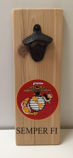 US MARINE CORPS Magnetic Bottle Openers by mmillis1 on Etsy