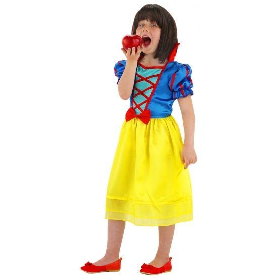 Prinsessen jurk voor meisjes. Sprookjes prinses jurkje voor meisjes. Materiaal: 100% polyester.