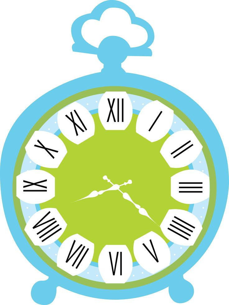 alice in wonderland clock clipart - photo #33