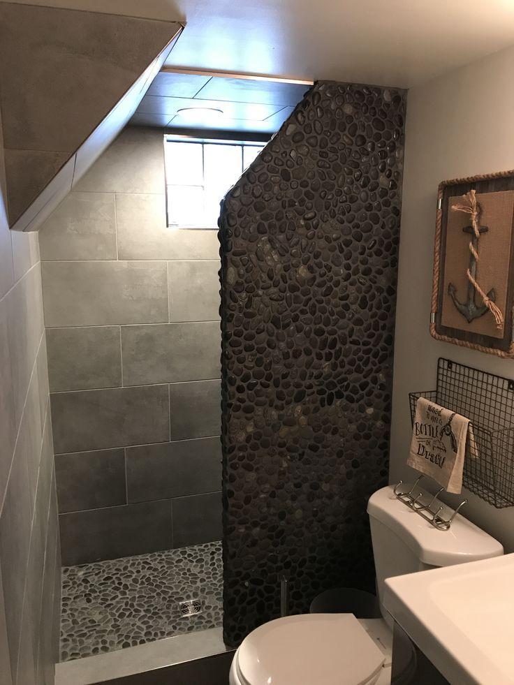 Pebble Tile Bathroom Ideas