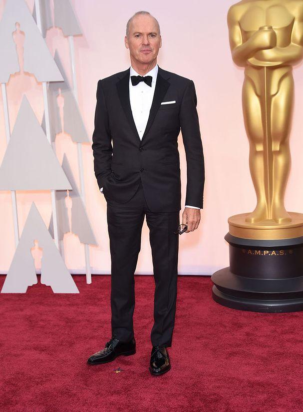 Le tapis rouge des Oscars 2015: Michael Keaton