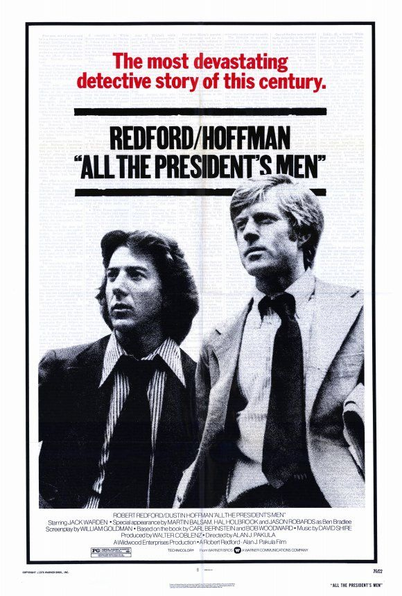 #77: All the President's Men (1976) - Reporters Woodward and Bernstein uncover…