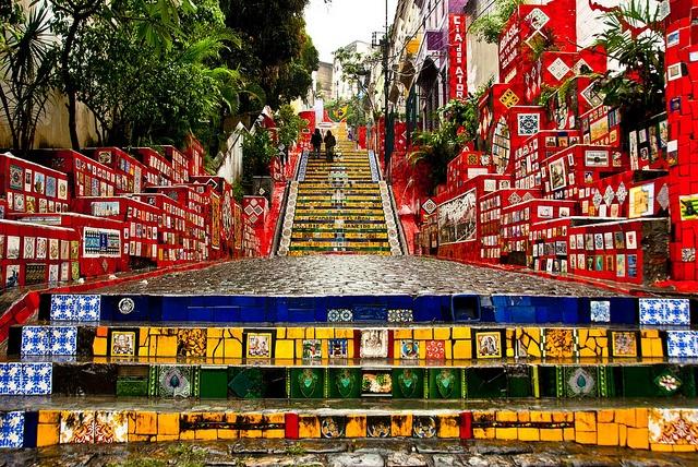 Escadaria Selaron by LGePhotography, via Flickr