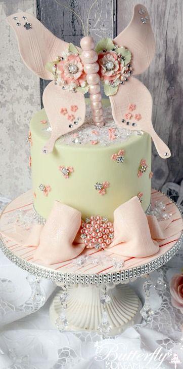 Miss Beau Butterfly Cake