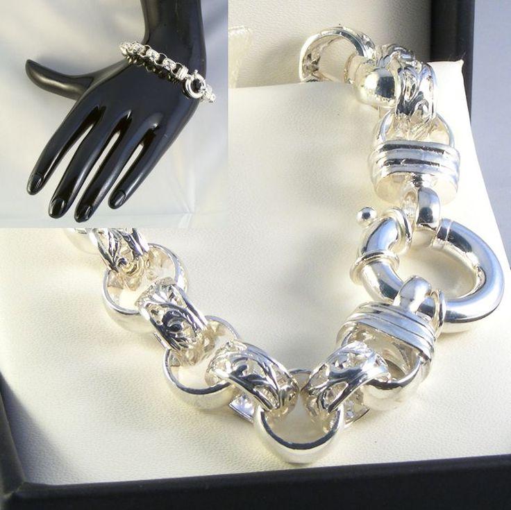 Sterling Silver Belcher Chain - HM-BEL-0003