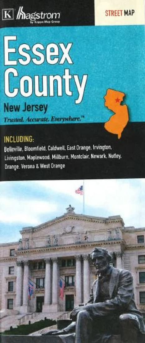 Essex County, New Jersey by Kappa Map Group