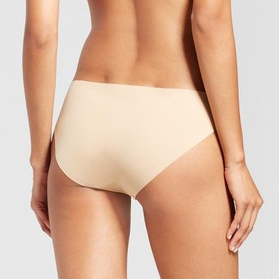Women's Laser Cut Bikini Honey Beige - S