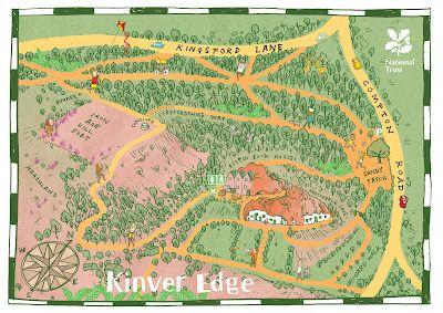 mistermunro: map of Kinver Edge for NT
