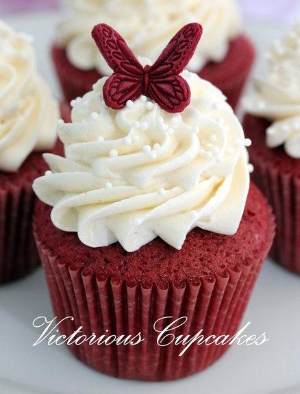 Red velvet cupcakes..My ULTIMATE favorite!!! :) :)
