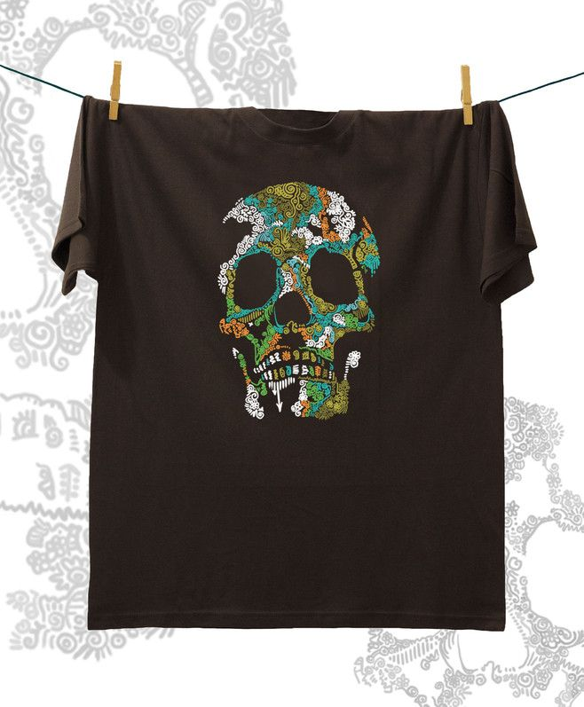 Camiseta ·MXH· Calavera