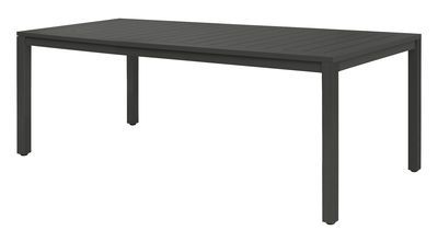 Neptune Table - Aluminium top - 210 x 100 cm Anthracite by Vlaemynck