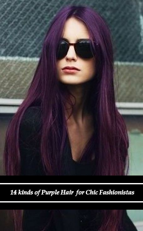 Hair Color to Try: Marvelous Purple Hair for Chic Fashionistas#Purple Hair#