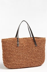 Oversized Straw Tote