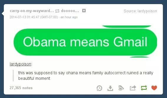 Obama means gmail, and Gmail means nobody gets... *insert something to do with Obama here* <<< real healthcare