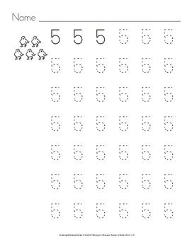 In these activities to practice numbers and number words students have to read the numbers and number words and trace them. They can also color the pictures.