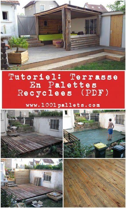 25+ Best Ideas about Terrasse En Palette on Pinterest  ~ Terrasse Bois Palette