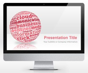 Best Powerpoint Templates Images On   Social Media