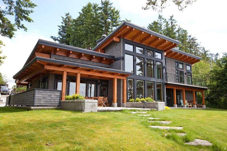Best Timberframe Exterior Exterior Contemporary With Orange 400 x 300