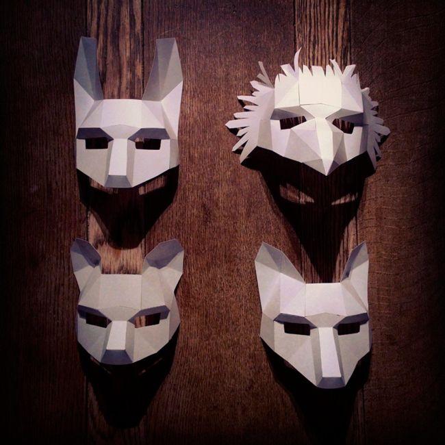Mullosk masks