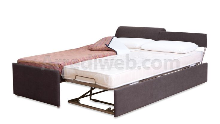 Doppio letto estraibile - Trapunta sfoderabile